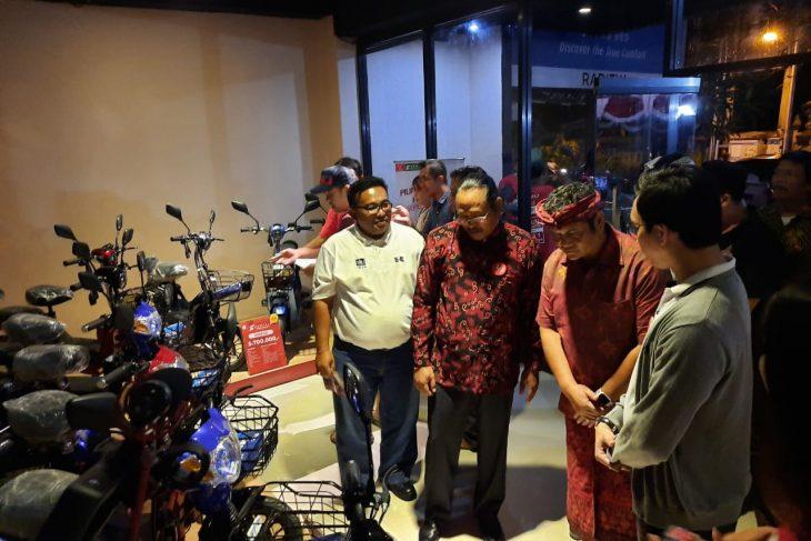 Kadishub Bali Dukung Penuh Penggunaan Sepeda Listrik di Bali.