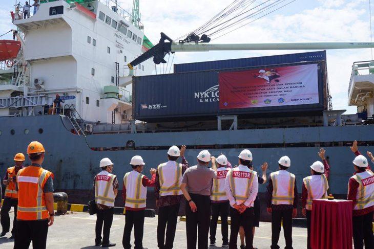 Peningkatan Aktivitas Dan Efisiensi Logistik Angkutan Laut Dalam Rangka Meningkatkan Eksport Bali Benoa.