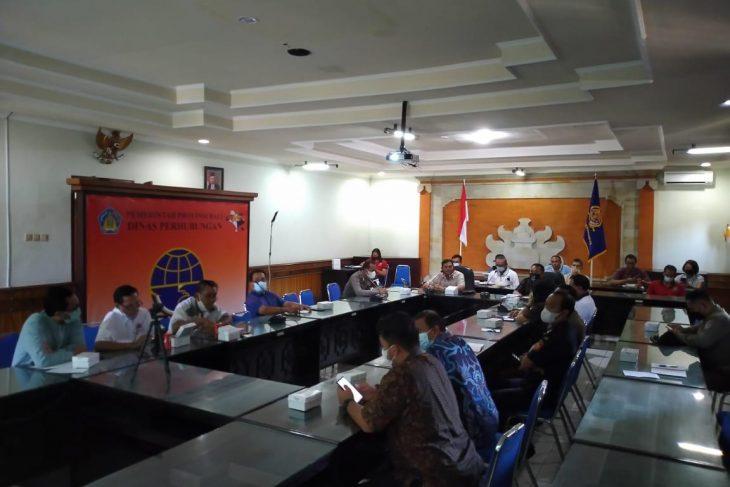 Focus Group Discussion  (FGD) penyusunan Strategi Penataan Angkutan Logistik
